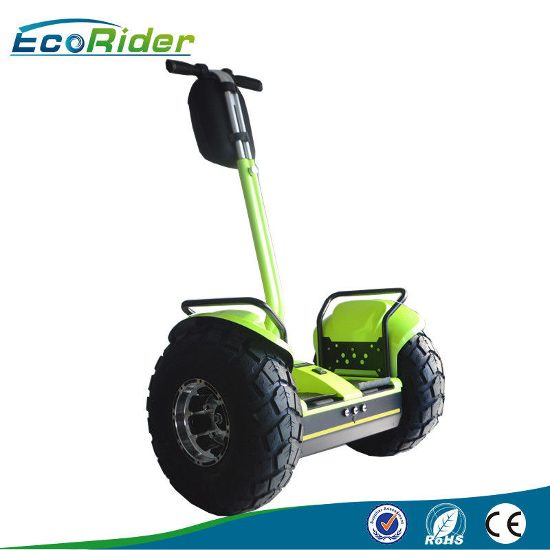 Self Balance Lithium Battery Electric Scooter / Off Road Scooters For Adults Segway Human Transporter