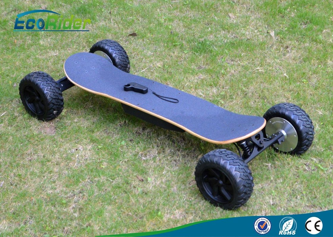 1800w Four Wheel Off Road Electric Skateboard Longboard With Remote Control For Adult