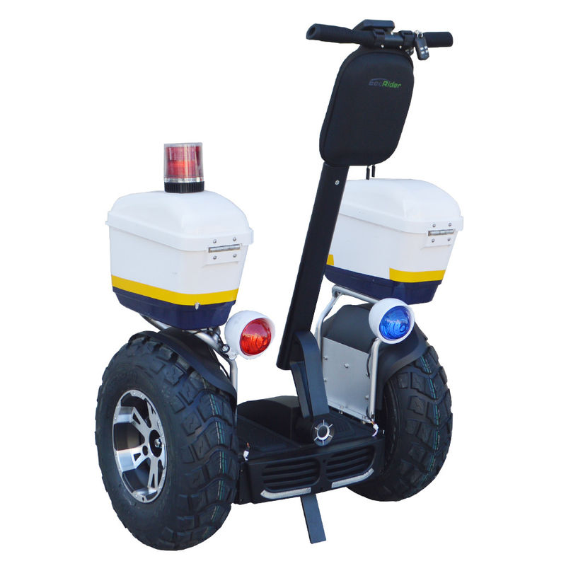 EcoRider Latest Off Road Segway Electric Scooter with 72V 4000W motor for Police and Patrol