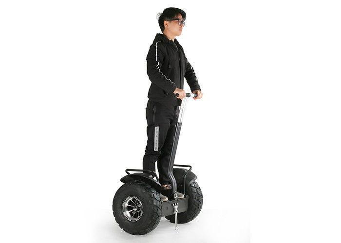 19 Inch Two Wheel Adult Electric Scooters , Auto Balance Scooter Vacuum Tire Black